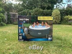 Lay-Z Spa Bali Airjet 2-4 Person LED Inflatable Hot Tub Jacuzzi Lazy