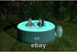 Lay Z Spa Bali LED 2021 Model Lazy Spa Hot Tub UK Plug & Warranty