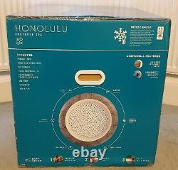 Lay-Z-Spa Honolulu Jacuz LED LIGHTS 6 Person Hot Tub FAST FREE DELIVERY
