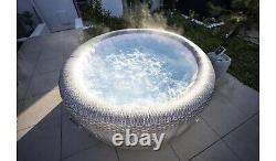 Lay-Z-Spa Lazy Honolulu 6 Person Hot Tub With Colour Changing LED Lights BNIB