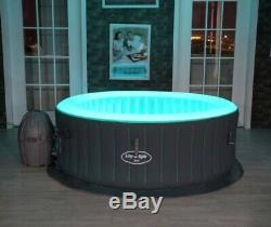 Lay Z Spa Lazy Spa Bali Airjet with LED's Brand New Hot Tub