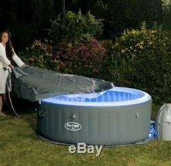 Lay Z Spa Lazy Spa Bali Airjet with LED's Brand New Hot Tub FREE DELIVERY