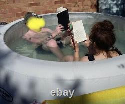 Lay-Z-Spa Paris 4-6 Person Hot Tub With LED Lights Used See Pics