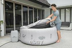 Lay -Z-Spa Paris 4-6 Person Luxury Inflatable Hot Tub with LED Lights Airjets