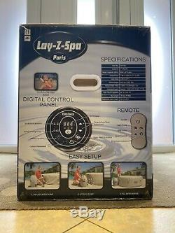 Lay Z Spa Paris Airjet With Led Hot Tub 4-6 People Brand New