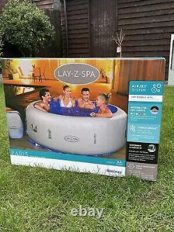 Lay Z Spa Paris Hot Tub 4-6 people with LED Lights 2021 Model! FREE DELIVERY