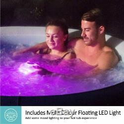 Lay Z Spa Saint St Tropez Airjet LED lights 6 person Hot TubUK EXCLUSIVE