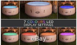Lay Z Spa VEGAS Hot Tub 6 Person Comes With LED lights UK Stock
