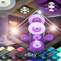 Led colour changing ceiling spot lighting remote control room floor lamp 143475