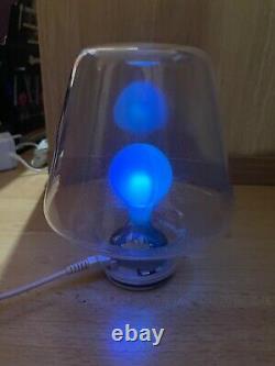 Mathmos Pop Light Blue to Green Looks Stunning Hand Blown Glass Rare