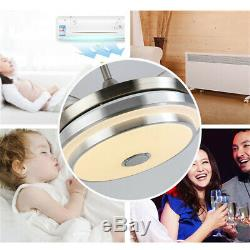 Modern LED 7 Light Color Ceiling Fan Music Changing Lamp Fan Remote/APP