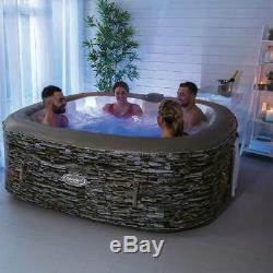 NEW! Cleverspa Sorrento 6 Pers Hot Tub Spa with LED' like Lay Z Spa WARRANTY