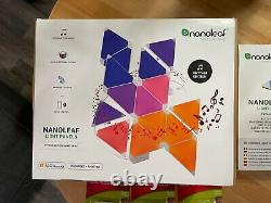 Nanoleaf Aurora Rhythm 18 Panel Starter Kit + Flexible Linkers