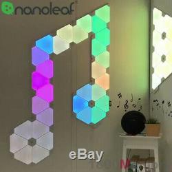 Nanoleaf LED Light Panels Canvas Rhythm Hexagon Smarter Kit Remote Accessory