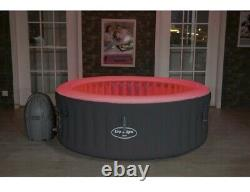 New 2021 Lay Z Spa Bali Air Jet Hot Tub LED Coloured Lights For 4 People