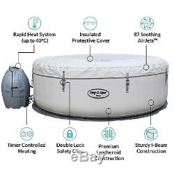 New Lay-Z-Spa Paris Hot Tub, LED Lights, 4-6 People