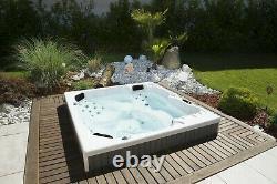 New Palm Spas Porto Luxury Hot Tub Spa 6 Seats American Balboa Led Lights 13amp