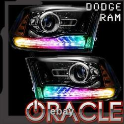 Oracle Dynamic ColorSHIFT DRL & Turn Signal Replacement For 2013-2018 Dodge Ram