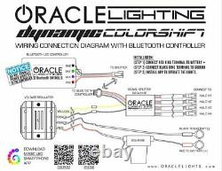 Oracle Dynamic ColorSHIFT Headlight DRL & Turn Signals For 14-19 Chevy Corvette