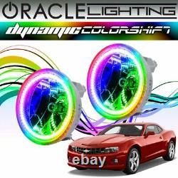 Oracle Dynamic ColorSHIFT LED Fog Light Halo Kit For 2010-2013 Chevy Camaro