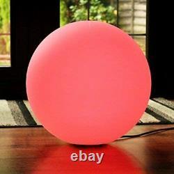 PK Green Globe Ball Light Floor LED Sphere Mains Powered, Colour Changing 60 cm