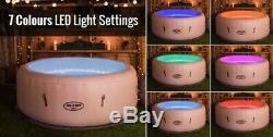 PRE ORDER Lay-Z-Spa Paris 4-6 person Hot Tub, LED Lights, 17th-24th July