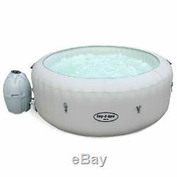PRE ORDER Lay Z Spa Paris, Lazy Hot Tub, LED Lights, 4-6 Person
