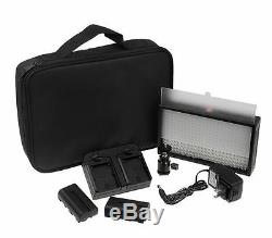 PRO LED 312AS Camera &Camcorder Video Light Lamp Bi-Color Changing Dimmable New