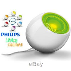 Philips 69150/31pu White Living Colour Changing Led Relaxing Mood Lamp Light