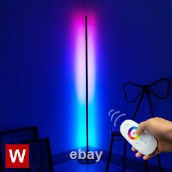 Prysm Minimal Color Changing RGB Floor Lamp Sleek Round Base