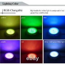 RGB 54W LED Pool/Spa Light Low Voltage 12V Color Changing with remote