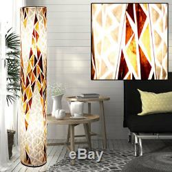RGB LED Floor Lamp Remote Control Textile Floor Light Dimmable Color Changing
