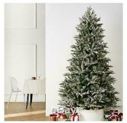 Santas Best Majestic Christmas Tree R/c Colour Change Led Lights Snowflock