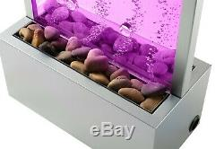 Sensory Autism Floorstanding Water Bubble Wall/Panel Colour Changing LED Lights