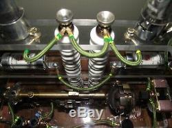 Steampunk Mad scientist. Tesla lamp