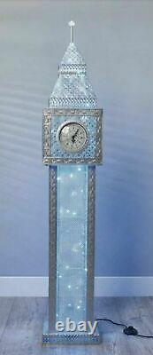 Stunning Big Ben LED Floor Lamp (Colour Changing) Blue Glow 147cm