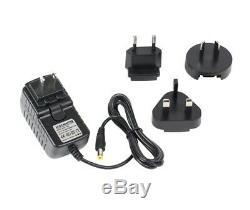 The Rue Colour Changing Minimalist LED Corner Floor Lamp Black (Remote)