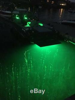 Trim Tab Mounted Rgb Color Changing Up To 8000 Total Lumens Underwater Led