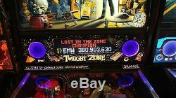 Twilight Zone TZ Lighted Pinball Color Changing LED Speaker Panel ULTIMATE
