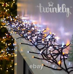 Twinkly Gen II (2) Smart App Controlled Cluster LED Christmas Lights In/Outdoor
