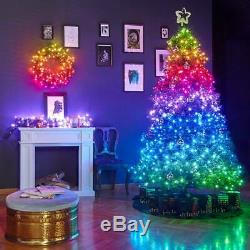Twinkly Gen II Smart App Controlled Christmas Tree LED Lights Outdoor Indoor