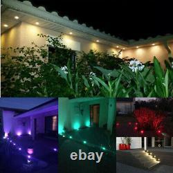 WIFI RGB+Warm white Decking Lights Colour Changing plinth Kitchen Garden Patio